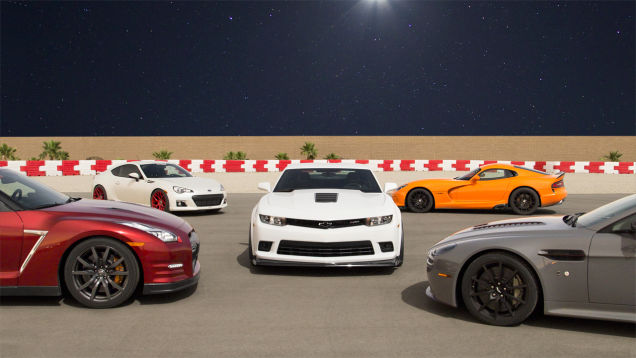 Battle of the Misfits: The Camaro Z/28 versus the world