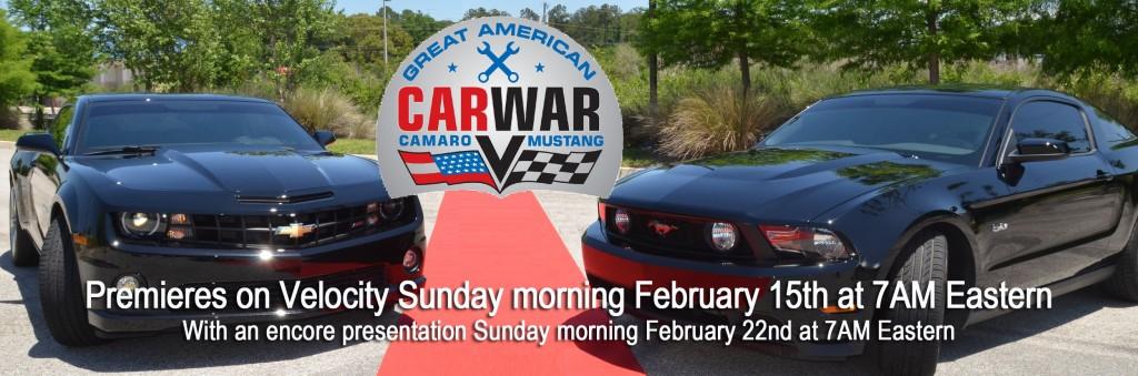 Great American Car War LOGO Red Carpet Velocity Premiere Promo Jan 2015
