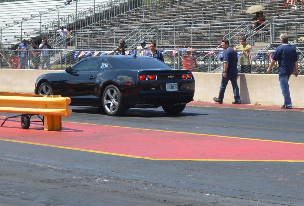 Team Camaro brings car on the start line
