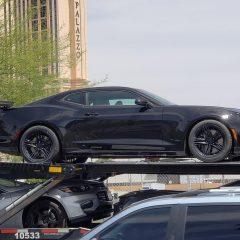 2019 Chevrolet Camaro ZL1 Snapped In Las Vegas